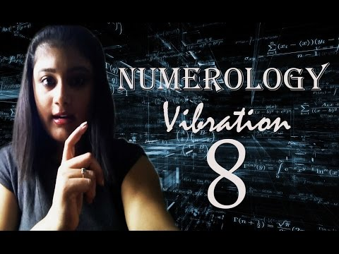 Numerology Number Vibration 8
