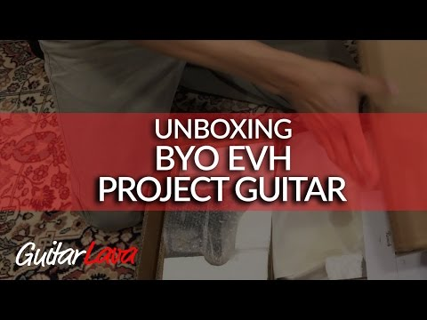 DIY EVH Style Electric Guitar Kit BYO (Part 1: Unboxing)