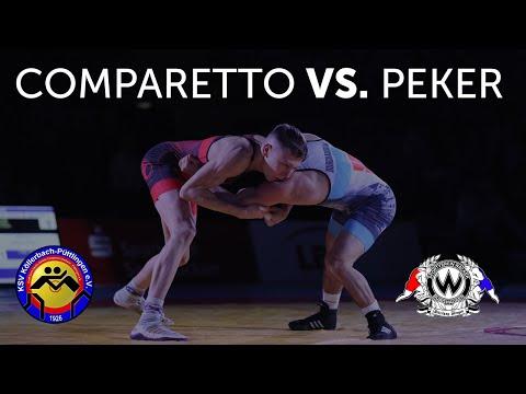 RINGEN - DMM FINALE - 57kg FS Giovanni Comparetto Vs. Ahmet Peker