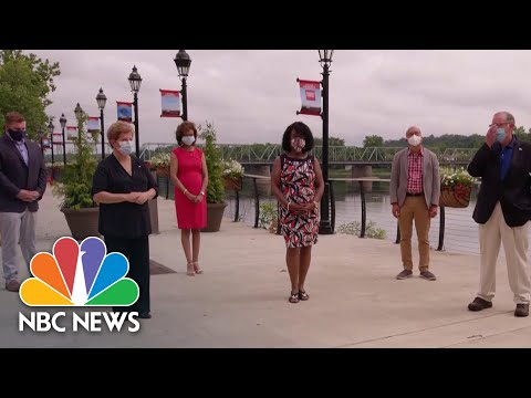 Pennsylvania Swing State Voters Say America Has A 'Crisis Of Leadership'   NBC News NOW