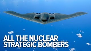 All The Nuclear Strategic Bombers In History