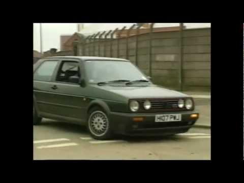 old top gear 1992 - volkswagen golf gti - youtube