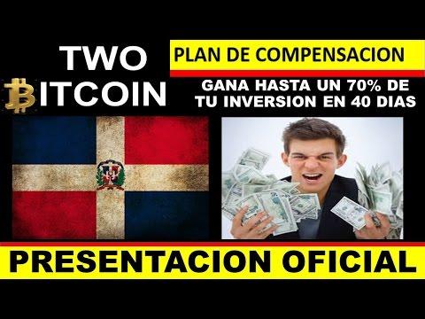 TWO BITCOIN REPUBLICA DOMINICANA - Gana Hasta El 70% De Tu Inversión En 40 Días! - BITCOIN - FOREX