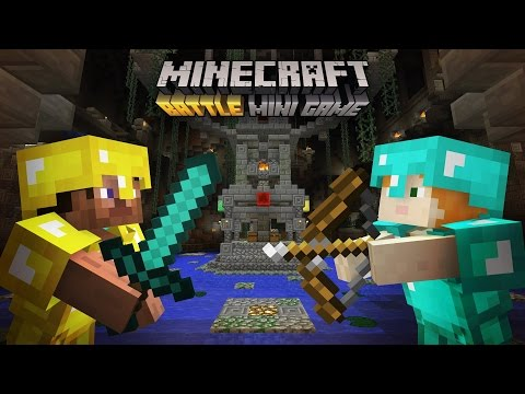 XBOX MINECRAFT BATTLE MODE - MINECRAFT CONSOLE MINIGAMES