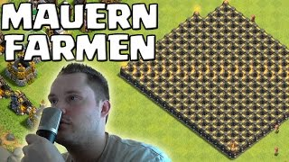[facecam] MAUERN FARMEN! || CLASH OF CLANS || Let's Play CoC [Deutsch/German HD]