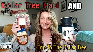 Dollar Tree Haul * PLUS * Come With Me To 1 Of My Favorite Dollar Trees/ AWESOME NEW ITEMS