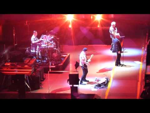 Beautiful Day/Where the streets/I still haven't found - U2. Madison Square Garden, NY. July 23, 2015