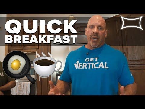 Stan Efferding's Quick Breakfast for People On The Go! | Vertical Diet