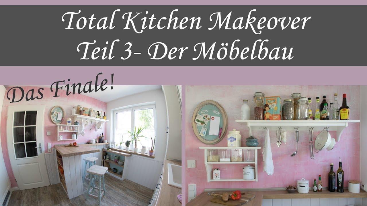 DIY Möbelbau in der Küche - Kitchen Makeover Teil 3 - YouTube