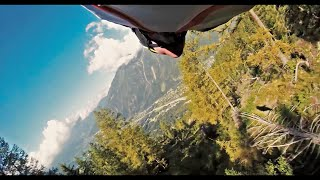 The Cheese Grater Line - Wingsuit Aiguille du Midi - Chamonix - Nathan J Jones