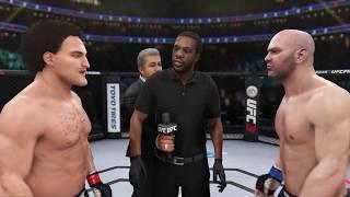 Ben Askren vs. Dana White (EA sports UFC 3) - CPU vs. CPU