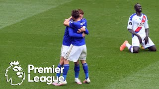 Jamie Vardy's 100th Premier League goal doubles Leicester City lead v. Crystal Palace   NBC Sports