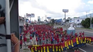 Turba Roja - Caminata FAS vs Alianza 03-11-2013