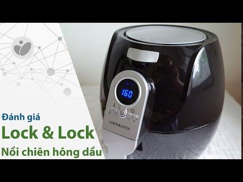 Giới thiệu và đánh giá nồi chiên không dầu Lock&Lock ECF-301R   Tinhte.vn