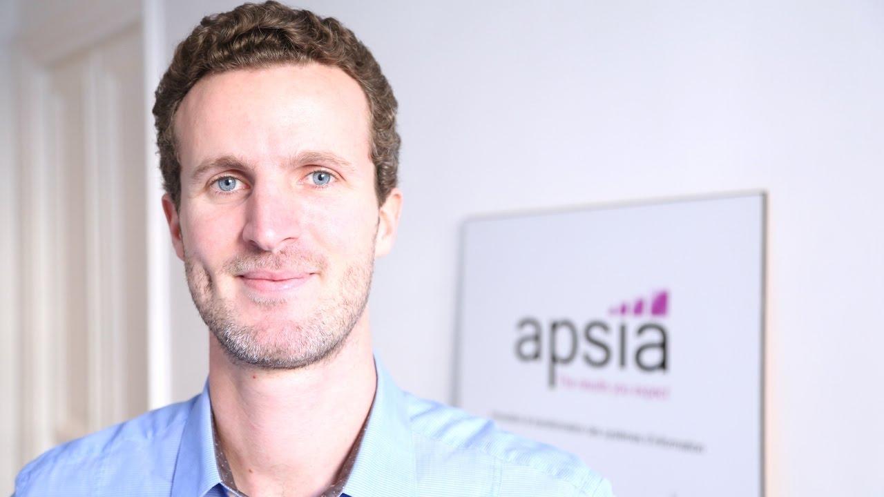 Découvrez Apsia avec Axel, Manager
