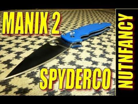 Spyderco Manix 2: