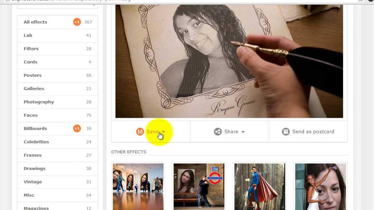 Photofunia - Como Fazer Montagem de Fotos Online
