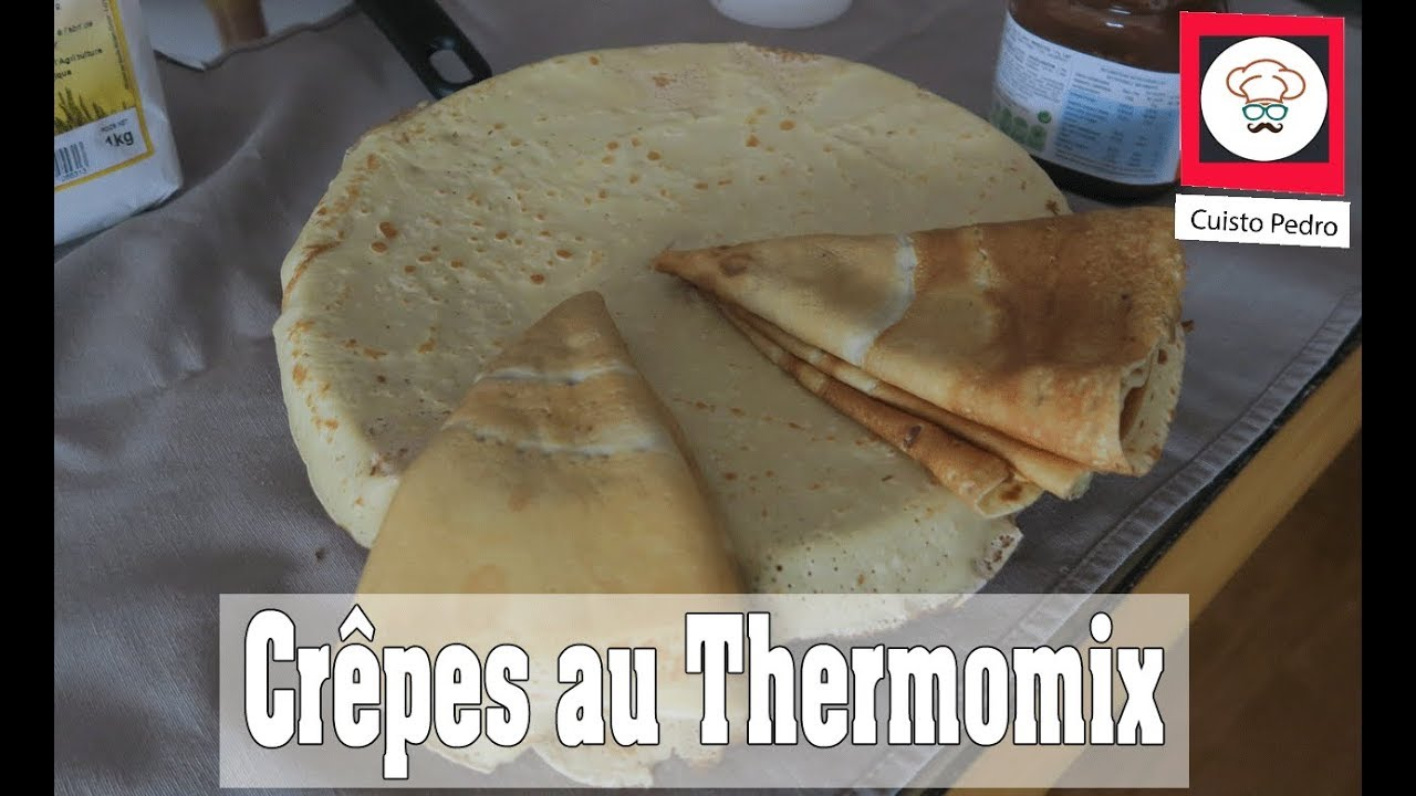 Recette p te cr pe avec ou sans thermomix avec jeanviet youtube - Pate crepe thermomix ...