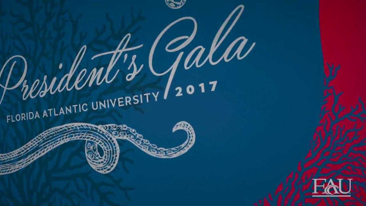 2017 fau gala invitation youtube