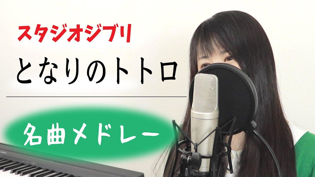 【となりのトトロ】「風のとおり道 〜 さんぽ」など名曲メドレー(スタジオジブリ / by Macro Stereo & Elmon)