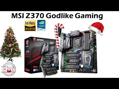 MSI Z370 Godlike Gaming Review and Build