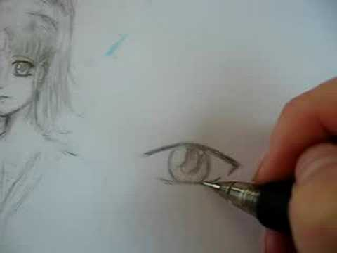 How To Draw A Male Anime Eye