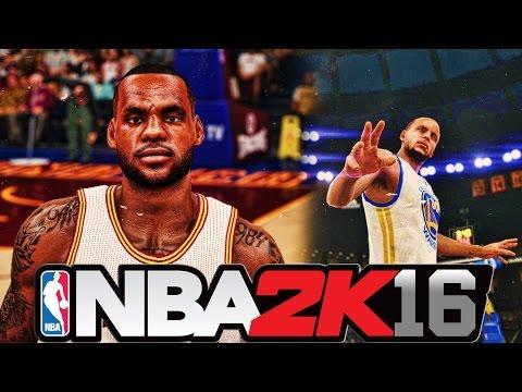 NBA 2K16 - Official NBA Finals Fan-Made Trailer and Gameplay