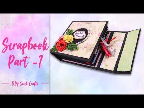 How to make Scrapbook base part-1 | Handmade Scrapbook base making |scrapbook tutorial part -1