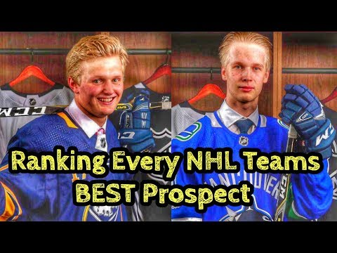 Ranking Every NHL Teams Best Prospect