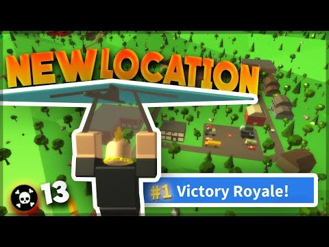 *NEW* LOCATION (Tilted Towers?) HIGH KILL WIN - Island Royale  (ROBLOX FORTNITE)