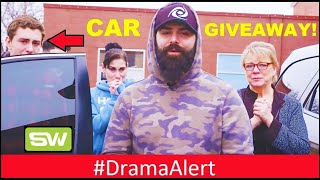 I bought my fans a BRAND NEW CAR!   -- #DramaAlert