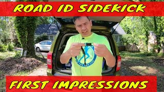 Road ID Sidekick First Impressions and Review