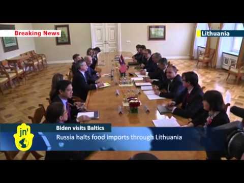Russia Annexes Crimea: US Vice President Joe Biden reassures Baltic NATO allies
