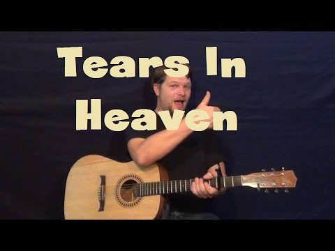 Tears In Heaven Eric Clapton Guitar Lesson Strum Chord Fingerstyle