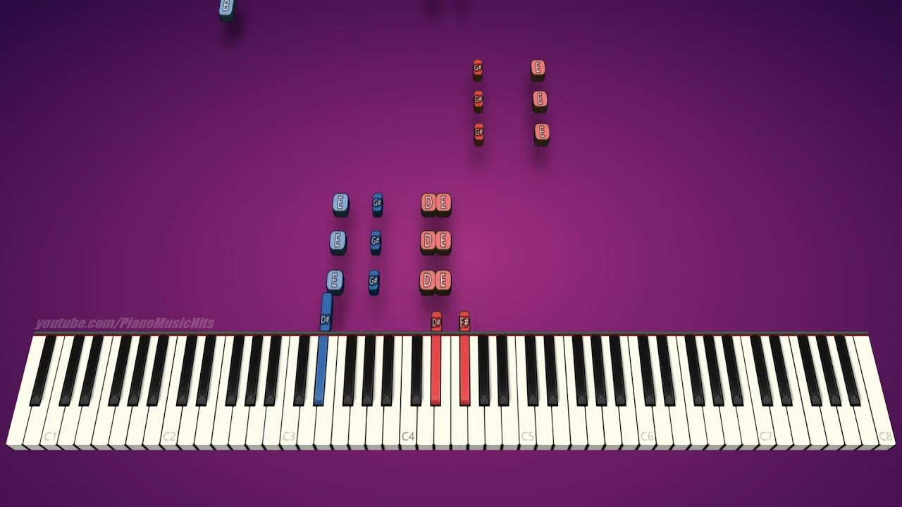 Mii Channel Theme (piano cover & tutorial)