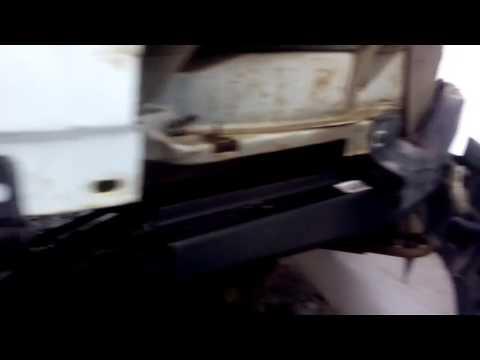 Бампер от газели бизнес установка