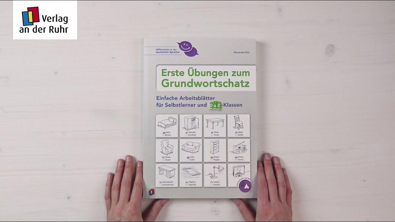 Erste Übungen zum Grundwortschatz: Arbeitsblätter für Selbstlerner ...