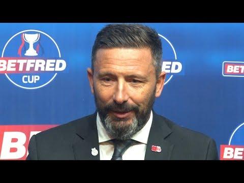 Aberdeen 1-0 Rangers - Derek McInnes Post Match Press Conference - Scottish League Cup Semi-Final