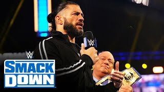 Roman Reigns expects The Usos to bring him the SmackDown Tag Team Titles: SmackDown June 4, 2021