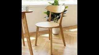 원목 테이블 의자 우드 식탁의자 카페 인테리어 의자