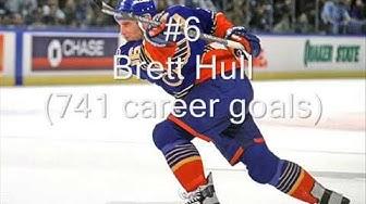 Top 10 Greatest NHL Goal Scorers