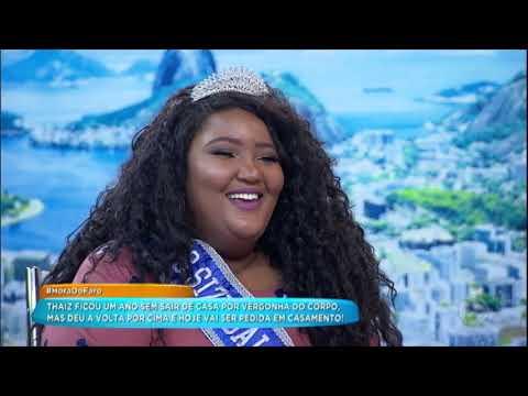 Miss Plus Size Revela Que Ficou Um Ano Sem Sair De Casa E Hoje Tem Um Grande Amor
