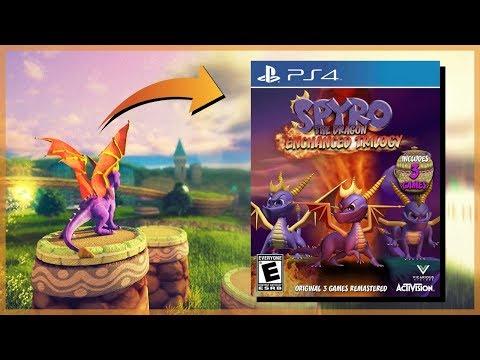 THEORIE - SPYRO de retour sur PS4