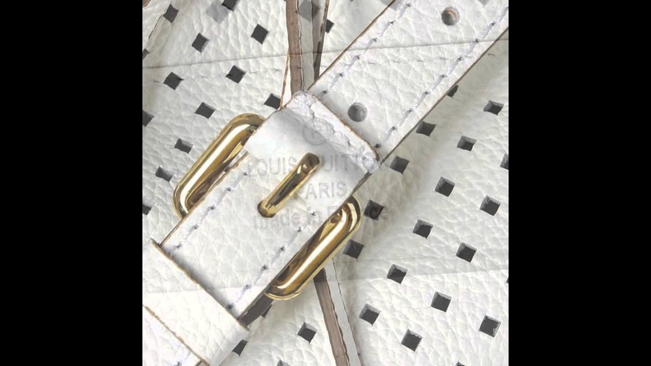 Louis Vuitton Wiki Cruise Collection 2017 Mahina Leather Noe White M94073 Por Color