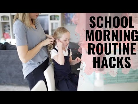 Morning Routine HACKS! Make Your Morning Routine With Kids MUCH SMOOTHER!