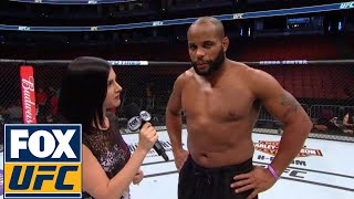 Daniel Cormier: 'He's still playing. I'm not playing anymore' | UFC 214