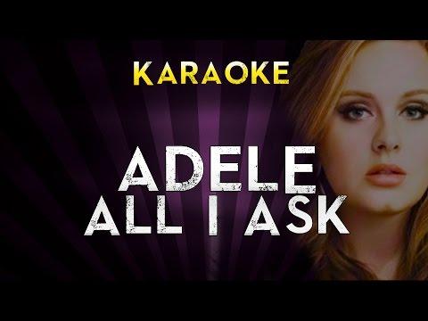 adele---all-i-ask-|-official-karaoke-instrumental-lyrics-cover-sing-along
