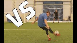 Skills challenge vs premier league player!!