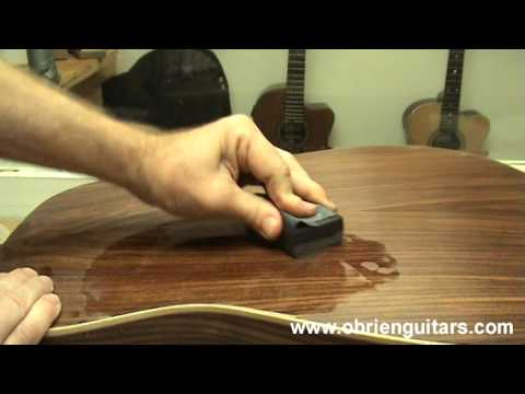 How to Achieve a High Gloss Finish without Buffing - Luthier Tips du Jour Episode 123