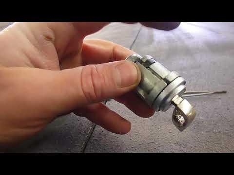 #W124 Замена личинки замка зажигания